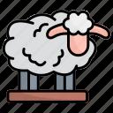 sheep, animal, lamb, goat, mammal, wildlife, animals