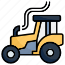 tractor, vehicle, farm, truck, transport, farming, transportation