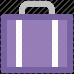 bag, briefcase, business bag, case, office, office bag, official bag icon