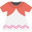 baby girl dress, casual kids wearing, kids garment, kids wardrobe, little girl frock icon