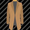coat, fashion, outerwear, overcoat, women fashion, women topcoat icon
