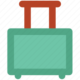 departure, journey suitcase, luggage, tourism, travel bag, trip, vacations icon