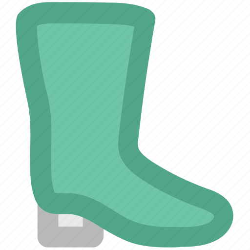 footwear, gardening shoes, gumboot, rain shoes, waterproof shoes, wellington boot icon
