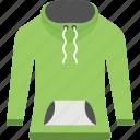 garment, men apparel, pullover hoodie, sweatshirt, turtleneck sweatshirt icon