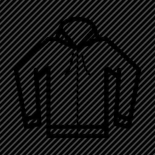 fashion, hoodie, jacker icon