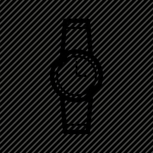 fashion, watch, wristwatch icon