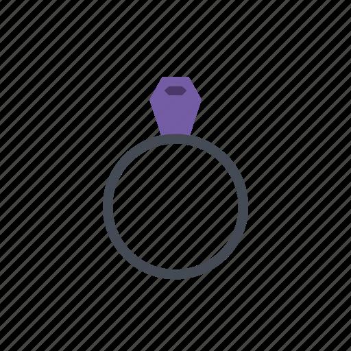 diamond, fashion, ring icon