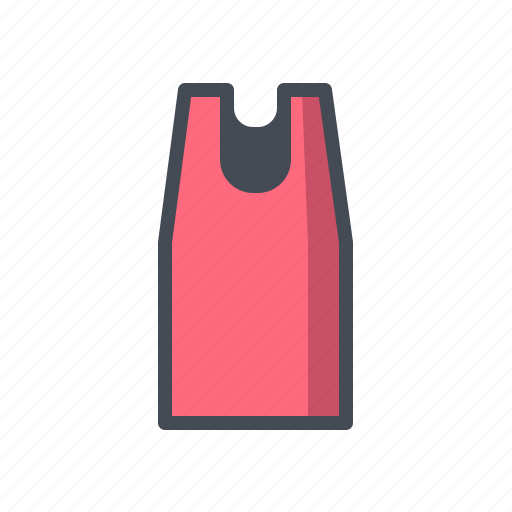 fashion, tank top, tanktop icon