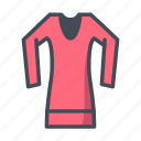 apparel, fashion, shirt icon