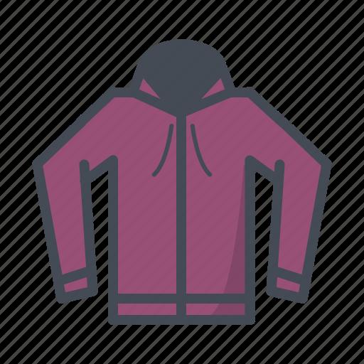 fashion, hoodie, jacket icon