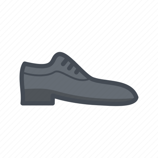 fashion, oxford, shoe icon