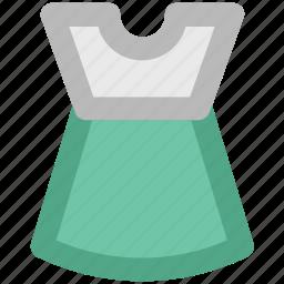 baby apparel, baby dress, girl garment, kids clothing, straps dress, summer wear, sundress icon