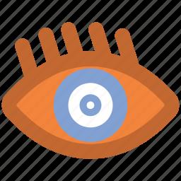 contact lens, eye, eye beauty, eye lens, eyelash, human eye, vision icon