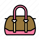 accesories, clothing, fashion, purse icon