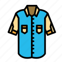 accesories, clothing, fashion, shirt icon