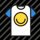 accesories, clothing, fashion, tshirt icon
