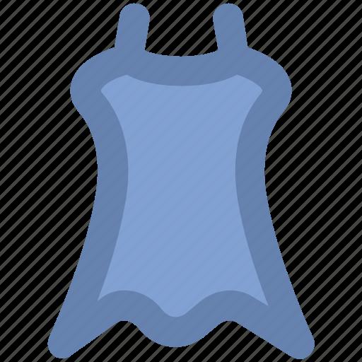 dress, frock, party dress, straps dress, swing dress, woman clothing, women dress icon