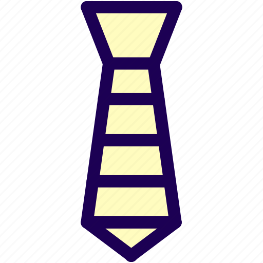 business, elegant, necktie, tie icon