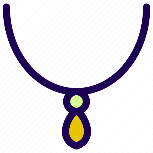jewel, jewelery, necklace icon