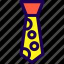 necktie, tie icon