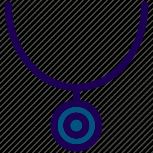 gemstone, jewel, necklace icon
