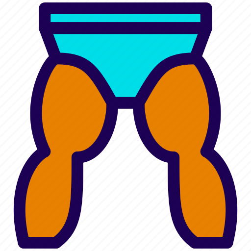 Athlete, legs, panties, underwear icon - Download on Iconfinder