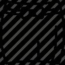 clothing, garments, skater skirt, skirt icon