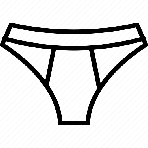 skivvies, undergarments, underpants, underthings icon
