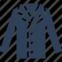 blazer, coat, jacket, winter dress icon