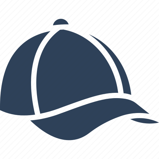 baseball hat, cap, headgear, headwear icon