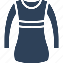 frock, party dress, swing dress, woman clothing icon