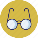 eyeglass, glasses, shades, spectacles icon