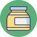 cream, cream jar, spa cream, spa ointment icon