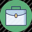 attache case, bag, briefcase, luggage icon