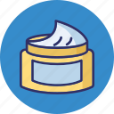 beauty cream, cream, cream bottle icon