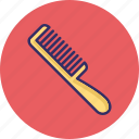 comb, hair comb, hair styling, tail comb icon