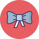 festive, gift decoration, greetings, ribbon bow icon