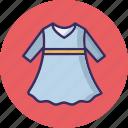 baby frock, frock, girl clothing, girl dress icon