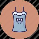 blouse, crop top, shrug jacket, women clothing icon