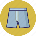 apparel, clothes, pajama, trouser icon