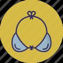 bra, brasserie, garments, underclothes icon