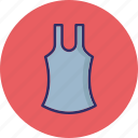 casual top, underclothes, undergarment, undershirt icon
