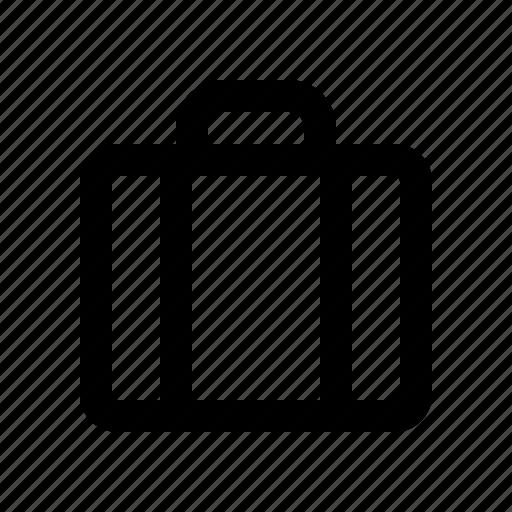 bag, briefcase, cart, fashion, shopping icon