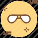 eye wear, fashion, glasses, sunglasses icon icon