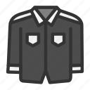 clothes, clothing, fashion, man, uniform icon