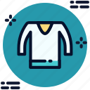 clothes, clothing, fashion, shirt, t-shirt, tshirt, wear icon icon