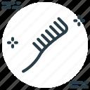 comb, hair, hair accessory, hair comb icon icon