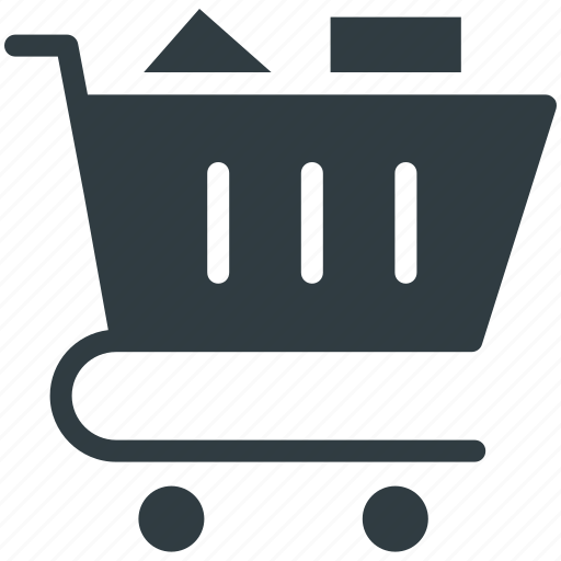 Ecommerce, online shopping, shopping cart, supermarket, trolley icon - Download on Iconfinder