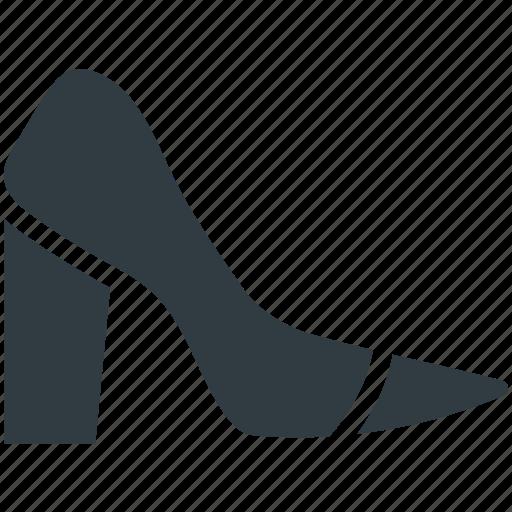footwear, high heel, prism heels, pump shoes, womens shoes icon
