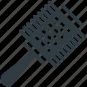 brush, hair brush, radial brush, round brush, vented brush